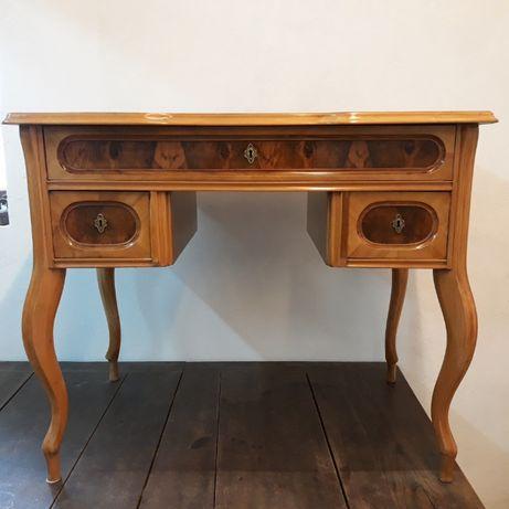 Zabytkowe drewniane biurko styl Ludwik, kolekcja klasyczna