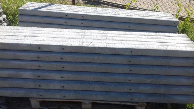 słupek betonowy do siatkowy sadowniczy ogrodzenia