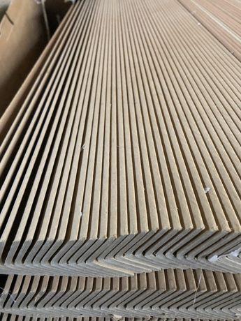 Kątownik tekturowy 35 x 35 x 4  długość 200 cm