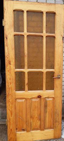 Drzwi sosnowe lakierowane