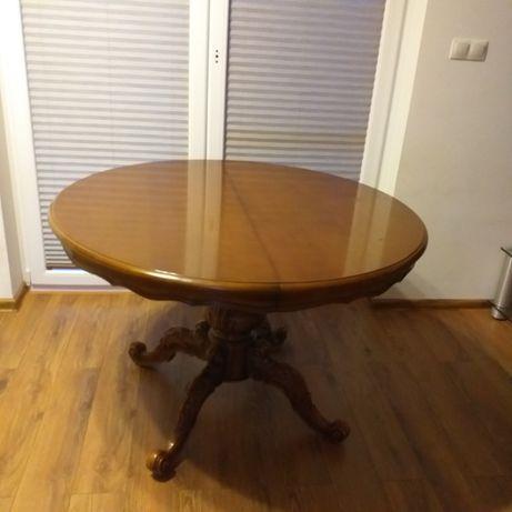 stół okrągły rozkladany