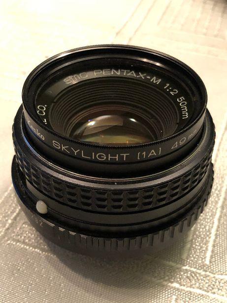 Obiektyw SMC Pentax-M 2/50mm PENTAX PK
