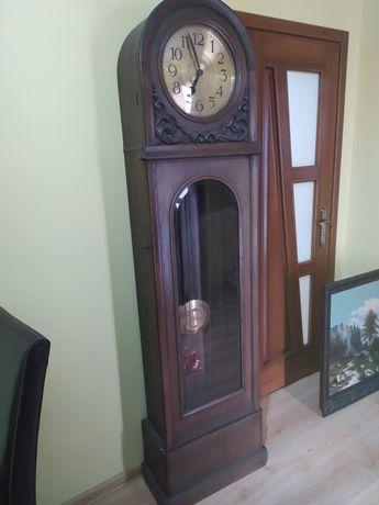 Zegar stojący FMS 1920r. 8 strunowy kwadransowy sprawny