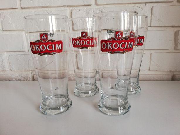 Pokale szklanki do piwa kufle Okocim 0,5 L