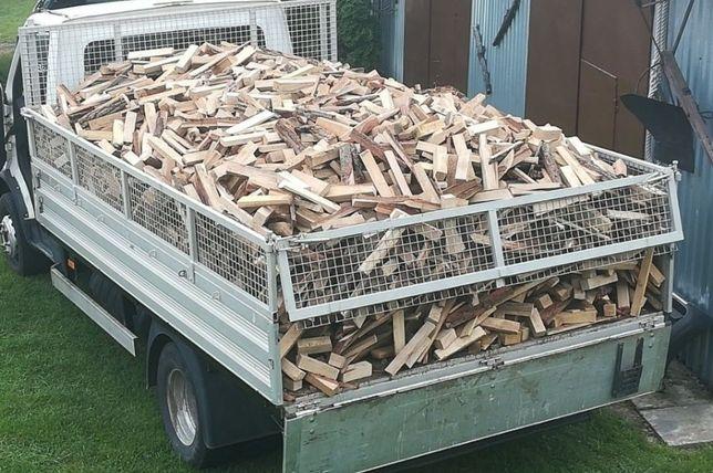 Wiązki, drewno bukowe i dębowe odpady