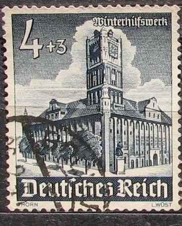 Znaczki D. Reich kas. 1940-42 stan -opis