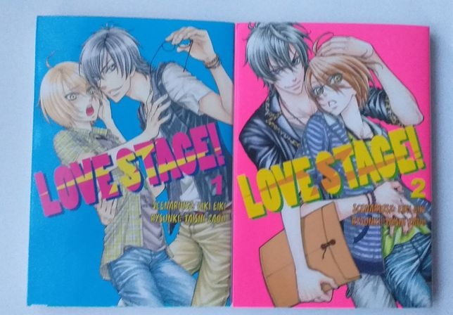 Manga Love Stage! tomy 1-4