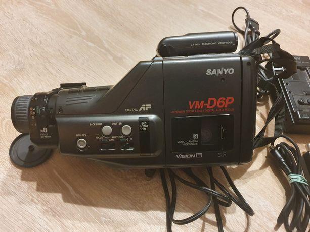Kamera na kasety Sanyo VM D6P VHS wideo video