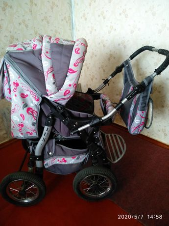 Детская коляска трансформер LUX