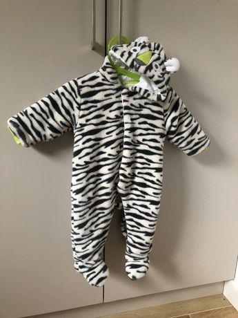 Kombinezon ocieplany Boboli rozmiar 68/74 zebra