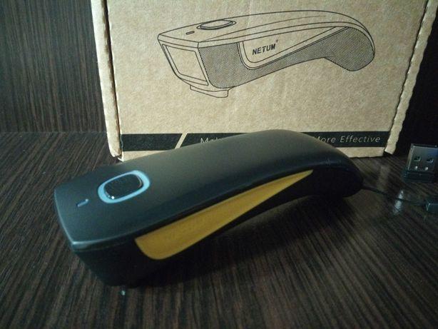 Беспроводной сканер штрих кодов NETUM C750 Bluetooth 2D