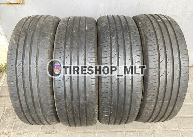 Летняя резина шины 215/55R18 CONTINENTAL 7мм