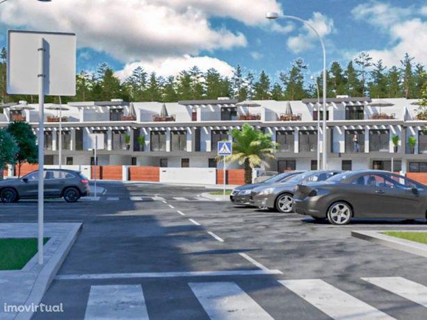 Apartamento T2 com terraço privativo em condomínio com pi...