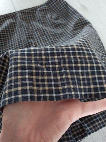 Spódniczka w kratkę, kratę, spódnica Klaus Thierschmidt 36 S