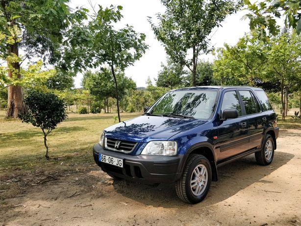 Honda CR-V 2.0l GPL 128cv Dez/1997 Azul em Muito Bom Estado