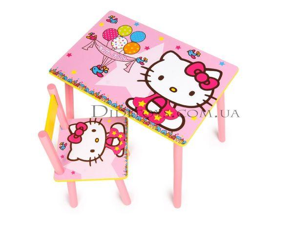 Детский стол Китти звезда (варианты) от производителя.