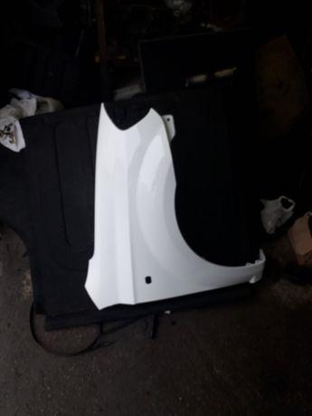 Крыло правое шевроле Авео Т250 оригинал Белое в идеальном состоянии