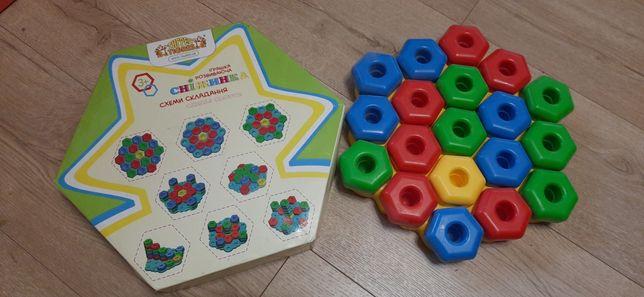Крупная Мозаика, развивающая игра для самых маленьких, 150 руб.