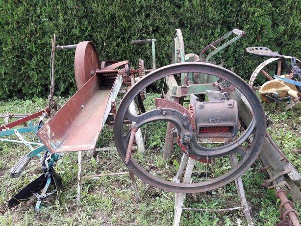 stare maszyny rolnicze