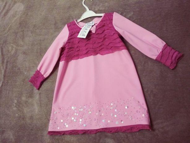 Плаття,сукня нова на 3-4 роки