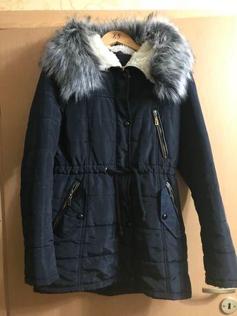 Зимняя куртка парка тёплая