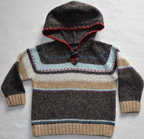 Sweter chłopięcy dzianina Next rozm. 98