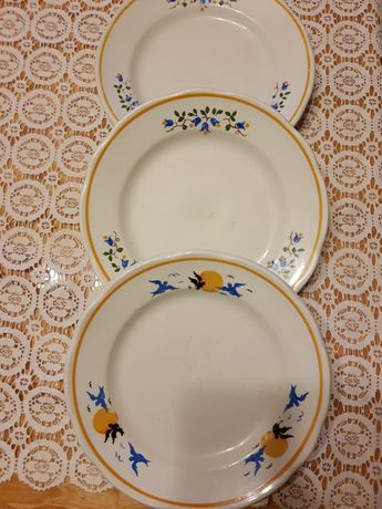 Porcelana LUBIANA 3 Stare Talerze