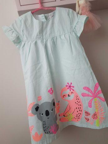 sukienki letnie roz. 98 NOWE