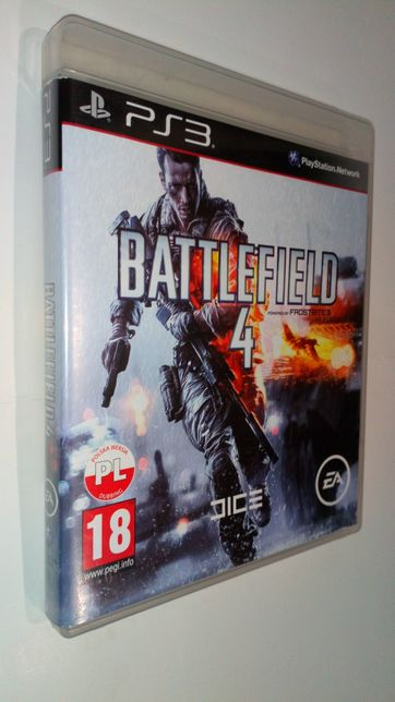 Gra PS3 Battlefield 4 IV PL gry PlayStation 3