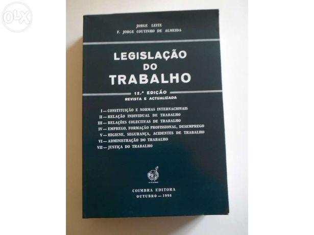 Livro - Legislação do Trabalho - Como Novo