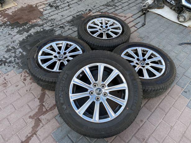 Lexus NX 2014 - 2021 Диски с резиной MICHELIN R17. НАЛИЧИЕ. РАЗБОРКА.