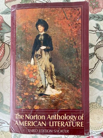 Antologia the Norton anthology of American Literature