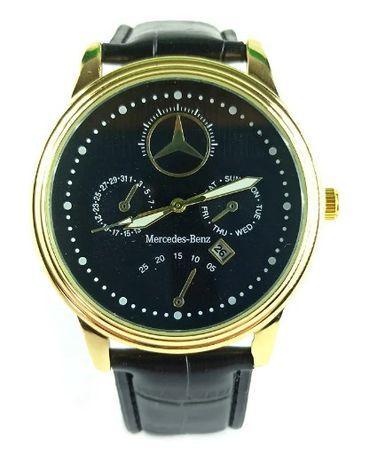 Стильные мужские часы Mercedes-Benz Китай (Черный)
