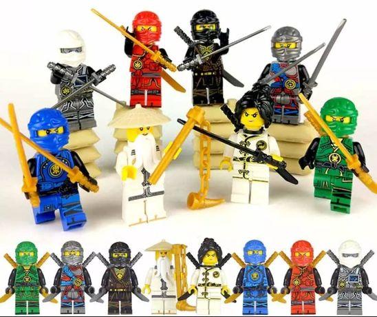 Figurki Ninjago Kompatybilne z Lego 5 sztuk