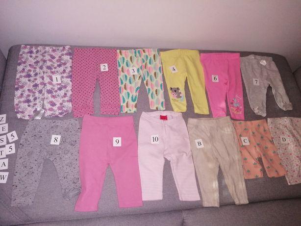 Z.55.56 Leginsy spodnie 3-6