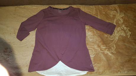Nowa bluzka ciążowa do karmienia M 38 40 42 fioletowa wrzosowa