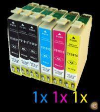 Conjunto de 6 tinteiros compativeis Epson 18XL - PORTES GRATIS