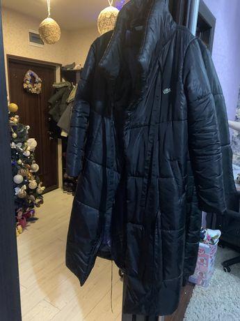 Пуховик одеяло Lacoste пальто куртка