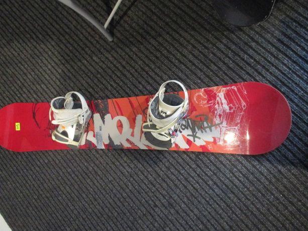 Deska snowbordowa Morrow 162 w dobrym stanie