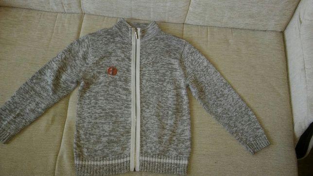 Sweterek rozpinany 5, 10, 15 roz. 122