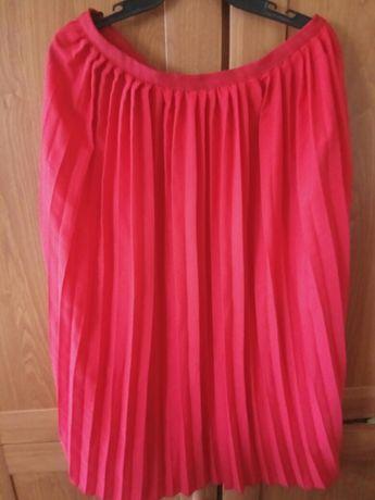 Nowa spódnica czerwona esmara 44