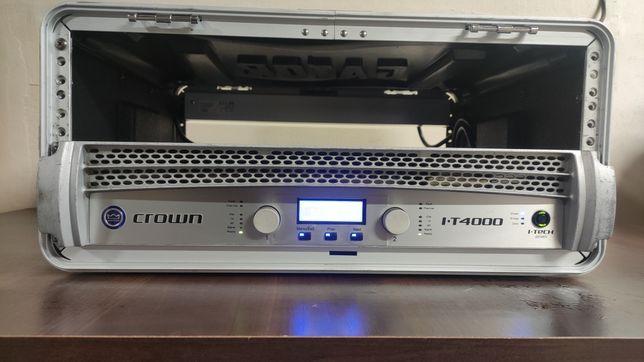 Crown I-Tech 4000 I-T4000 cyfrowa końcówka mocy wzmacniacz DSP