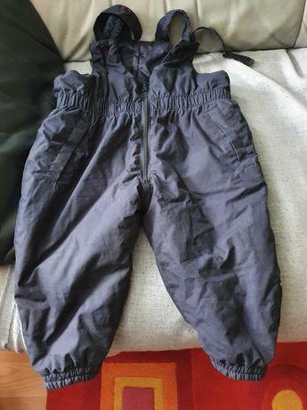 Spodnie ocieplane na 86 cm