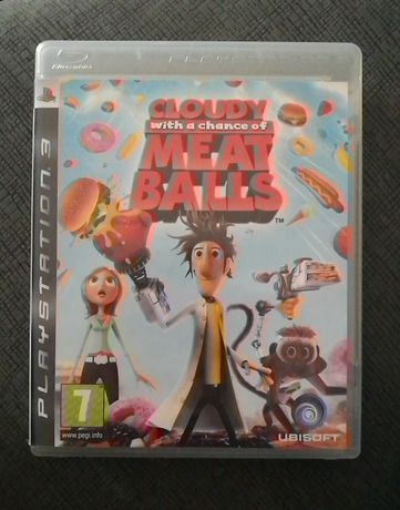 Cloudy with a Chance of Meatballs - Gra na PS3 dla dzieci - Klopsiki