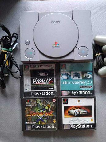 Konsola Playstation PSX wraz z grami
