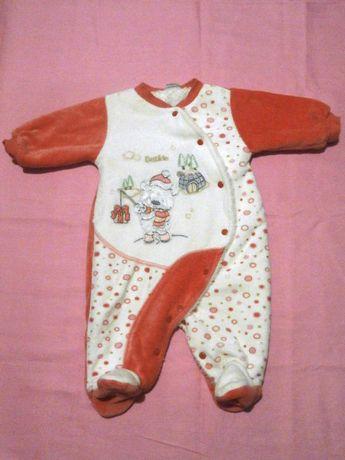 Комбінезон для новонароджених, 1-3 місяці