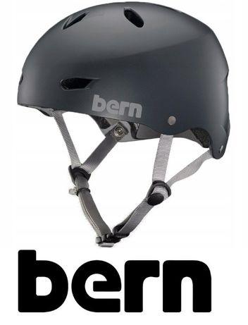 Nowy Kask Rower BMX Deska Bern Brighton S 54-55,5cm