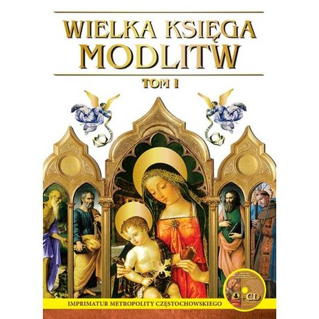 Wielka Księga Modlitw - Tom 1 i 2 + CD