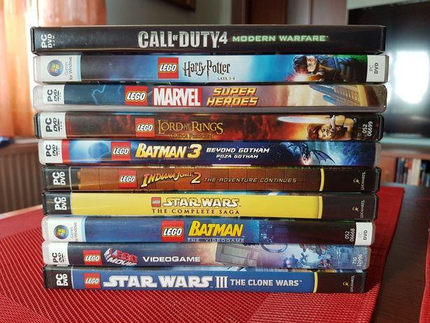 Zestaw gier PC DVD
