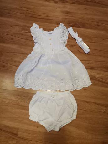 Sukienka/komplet lato hm 86